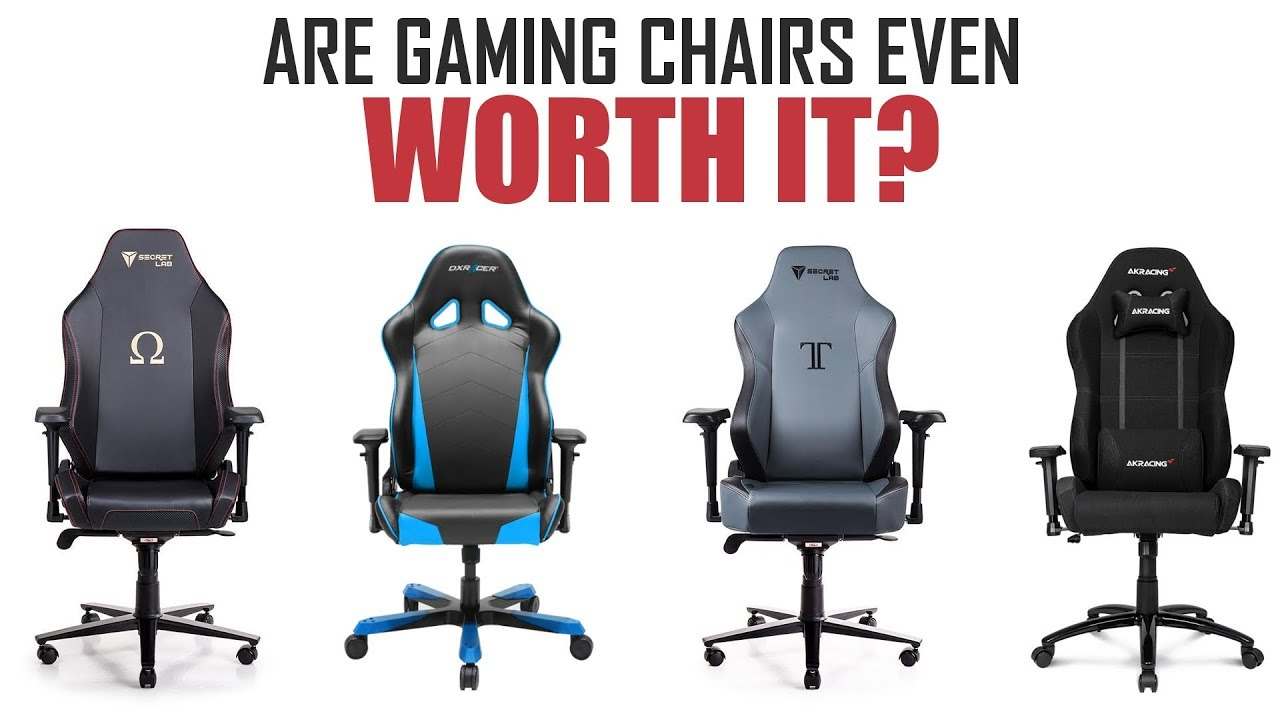 Are Gaming Chairs Worth It? 7 Things to Consider Before Buying A