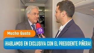 ¡Simón descubrió los secretos del avión presidencial! - Mucho Gusto 2018
