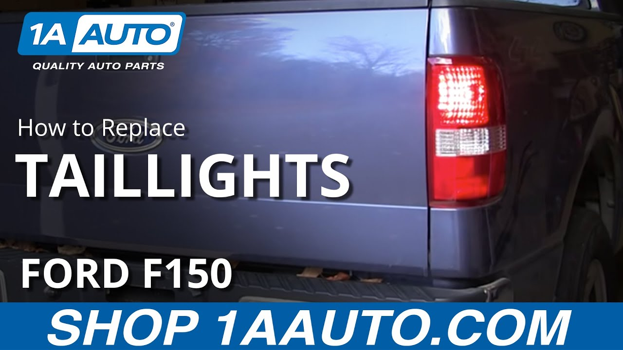 How To Install Replace Change Taillight And Bulb 2004