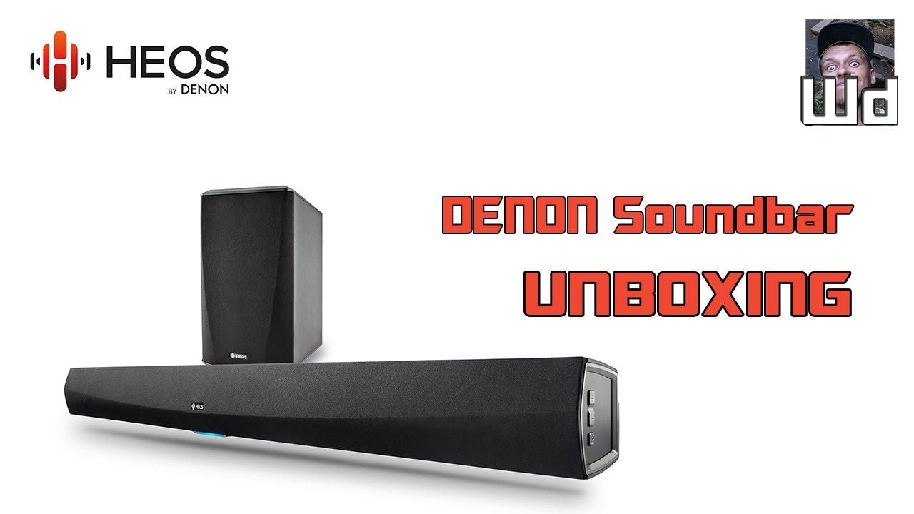 Denon Heos Home Cinema Soundbar