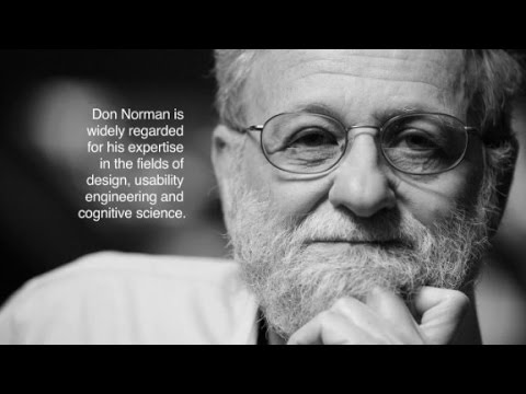 Don Norman and his theory on emotional design