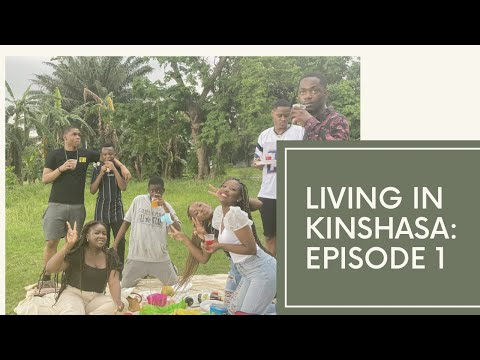 LIVING IN KINSHASA Ep1: Picnic vibes at the Fleuve Congo + Ice-cream date with my girls