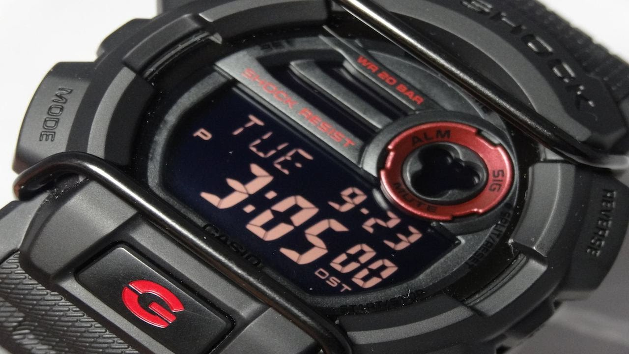 a3881dcc5b859 CASIO G-SHOCK REVIEW AND UNBOXING GD-400-1 STEALTH BLACK RED BULL ...
