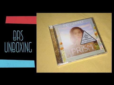 Katy Perry - Prism (Deluxe Edition) - CD Unboxing