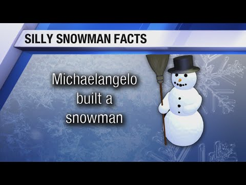 Justin The Web Guy - With Snow On The Ground, Here Are Some Interesting Snowman Facts!