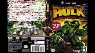 password-cheat Incredible Hulk  Ultimate Destruction ps2