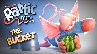 Funny Cartoon | Rattic Mini–The Bucket | Funny Cartoons For Kids