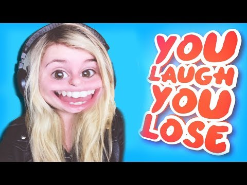 YOU LAUGH YOU LOSE CHALLENGE! |Little Kelly | Kelly and Carly Vlogs