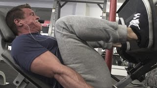 Slow Leg Press Form Breakdown (Makin