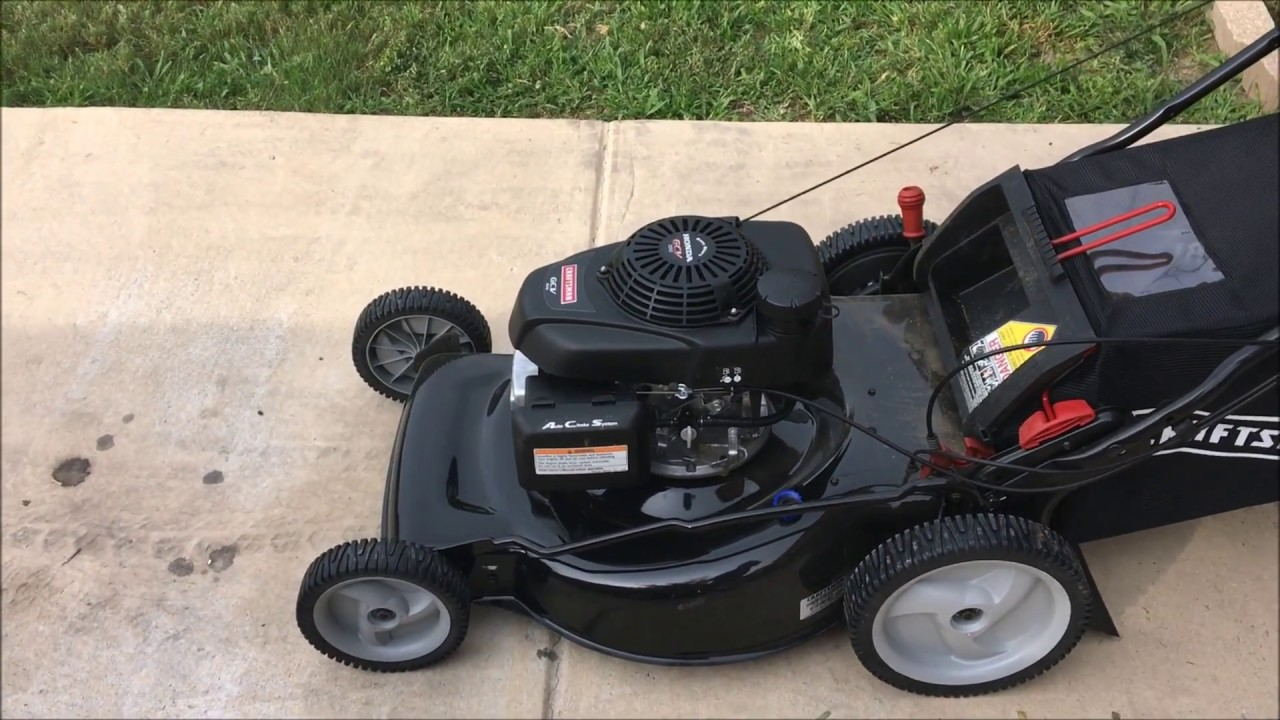 Craftsman EZ Walk RWD W Honda Engine Walk Behind Mower