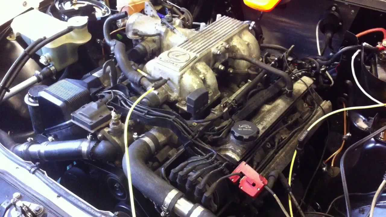 Mercedes 190e Track Car Fitted With Lexus 1uz Fe V8 First