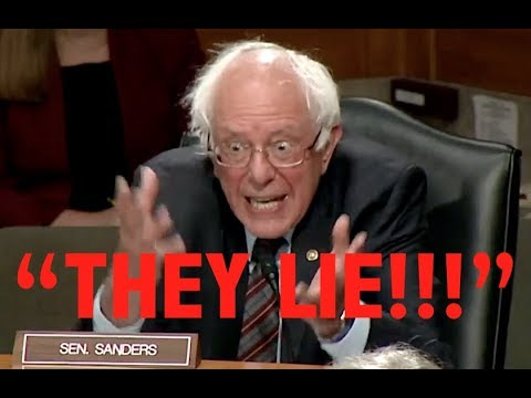 """""""THEY LIE!"""" Bernie Sanders' BRILLIANT Takedown of Trump & the Establishment's Illegal Foreign Policy"""