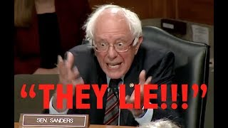 """THEY LIE!"" Bernie Sanders' BRILLIANT Takedown of Trump & the Establishment's Illegal Foreign Policy"