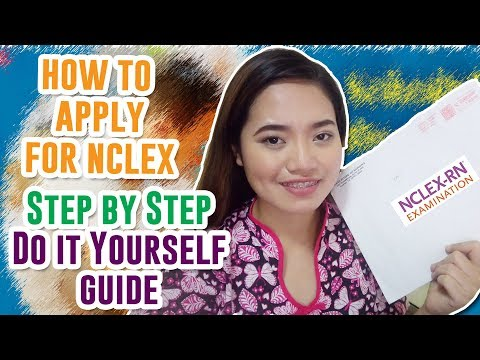 HOW TO APPLY FOR NCLEX (STEP BY STEP DO IT YOURSELF) NURSES' NOTES EP 1 🍓 JoyOfMia