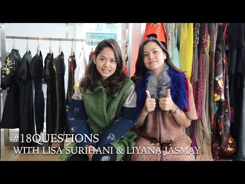 18 Questions with Lisa Surihani & Liyana Jasmay