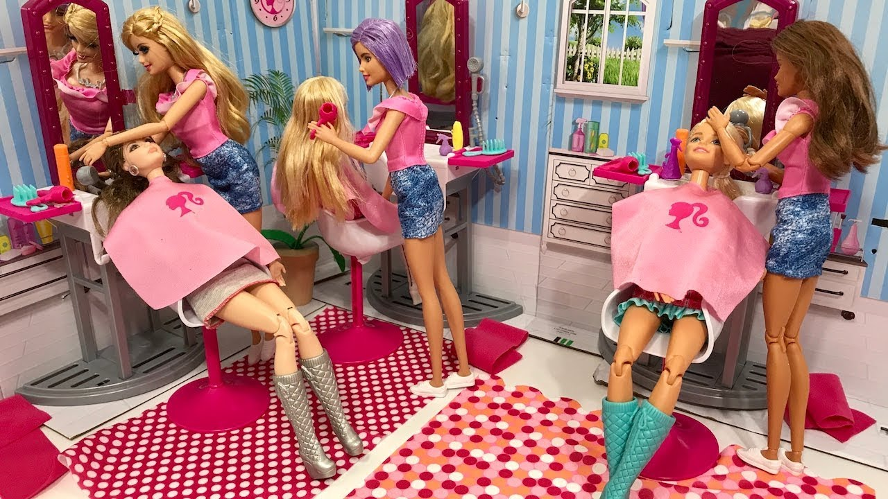 Barbie Salon