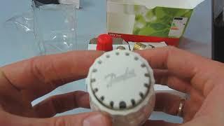 Обзор крана для радиатора с термоголовкой DANFOSS