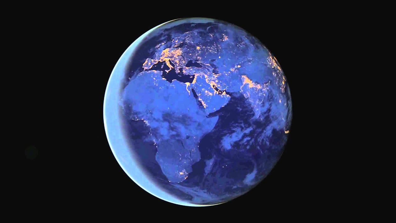 The Black Marble 2012 Earth at Night by NASA (HD) - YouTube