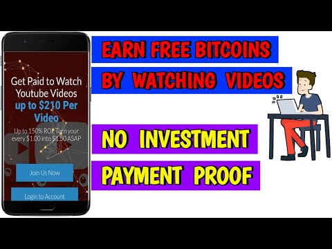 MyBitcointube - Earn Free Bitcoins Just By Watching Videos Everyday | Zero Investment