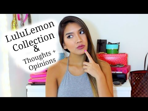 Updated Lululemon Collection + Thoughts and Opinions on the Brand