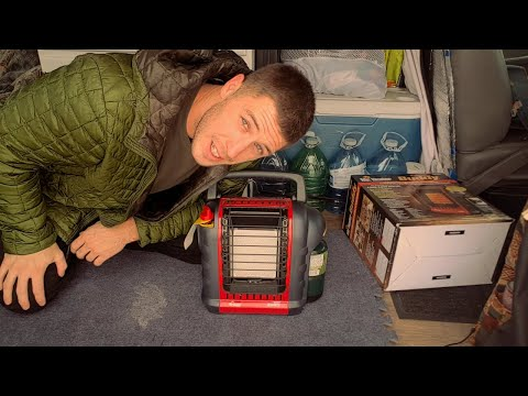 Mr.buddy Heater Review | Van Life