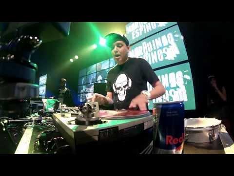 DJ Marquinhos Espinosa RedBull Thre3Style Final Mundial 2013.
