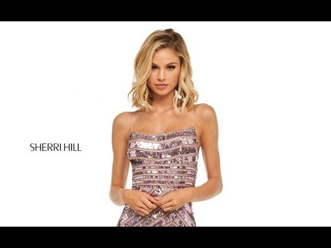741ee128ac8 Sherri Hill 52558 Prom Dress - YouTube