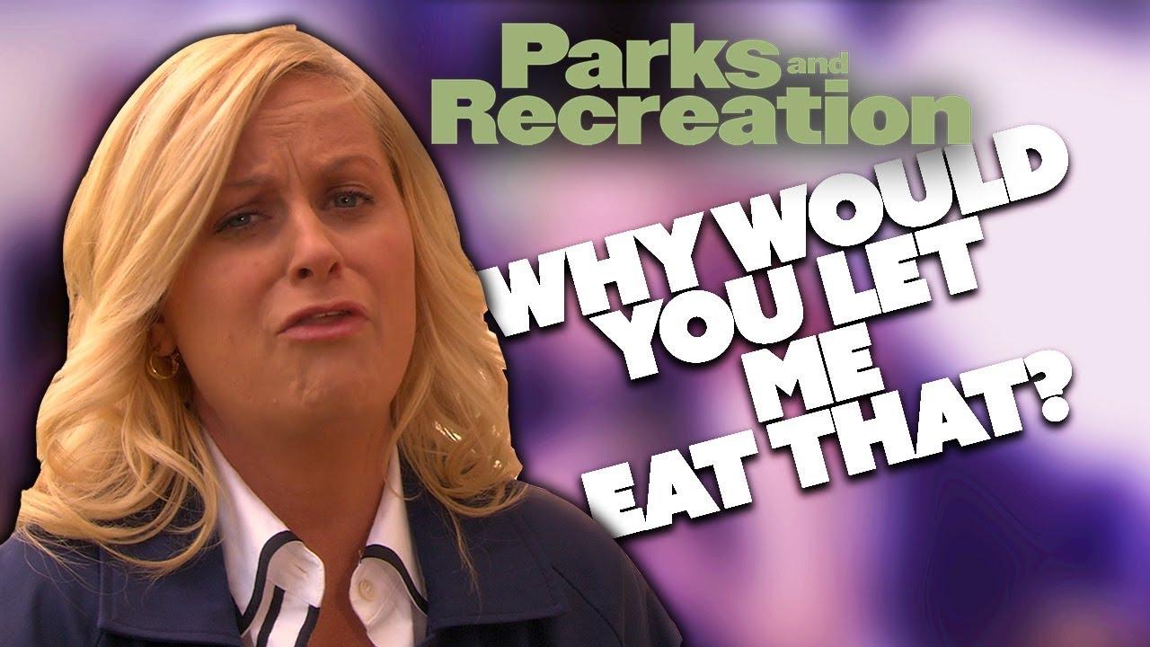 Leslie Eats A Poisonous Plant | Parks and Recreation | Comedy Bites