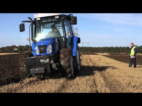 Top Ploughman - Andrew Mitchell ploughing with New Holland at Scottish Ploughing Championships
