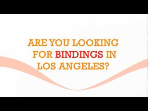Binding Services in Los Angeles by Gold Image Printing