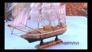Wooden Boat Toy For Kids By SuperMyToys