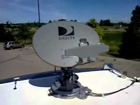 Winegard Traveler Deploys -DirecTV HD