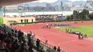 2015-12- 6 南華會第69屆全港學界田徑運動會 女子丙組200米25秒91破大會紀錄