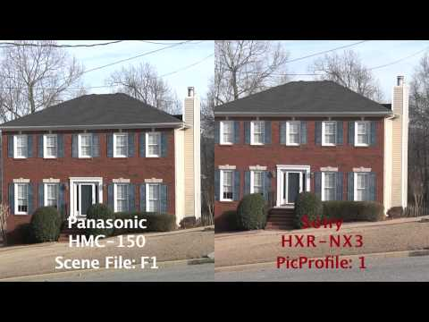 Sony HXR NX3 vs. Panasonic HMC-150 Comparison