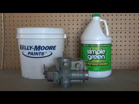 How to clean a clogged motorcycle carburetor 4K