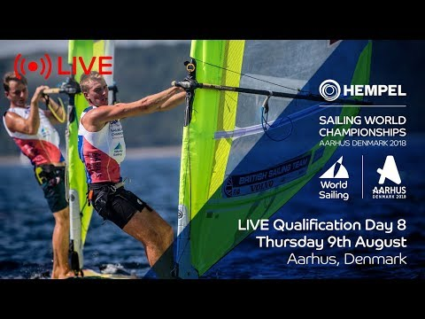 LIVE Sailing  Hempel Sailing World Championships  Qualification Day 8