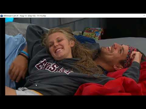 Production asked Haleigh if Fessy is a good kisser