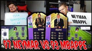 Fifa 18: 97 POTY NEYMAR vs. 93 YPOTY MBAPPE Squad Builder Battle vs. RealFifa!