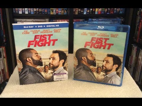 Fist Fight BLU RAY UNBOXING and Review - Ice Cube