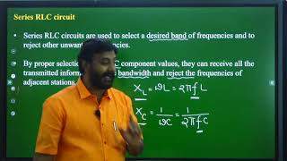 I PUC | ELECTRONICS  | AC and DC APPLIED TO PASSIVE COMPONENTS  - 9