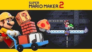 SUPER MARIO MAKER 2 | Campanha #9 - A Última Construção!?