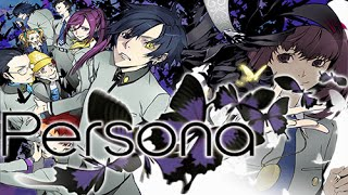 [PSP] Shin Megami Tensei : Persona 1 : [005] -  Running into Reiji and Elly