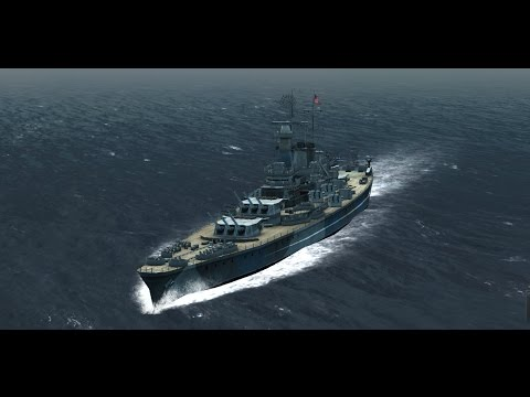 Atlantic Fleet : Battleship Spotlight - The North Carolina C