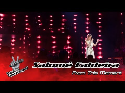 Salomé Caldeira   From this moment Shania Twain    The Voice Portugal