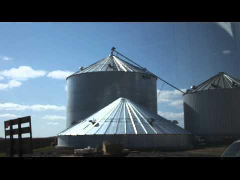 Grain Bin Construction Timelapse