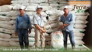 Terra Zan - Fertilizante Orgánico Mineral | Granja Maipú - Palma de aceite - Puerto Gaitán