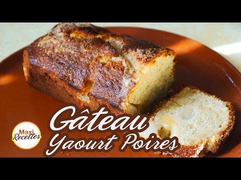 recette-gâteau-au-yaourt-aux-poires