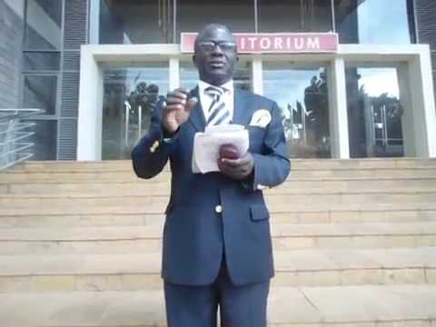 PROF. EULOGE ANICET NKOUNKOU WHY THE CONFERENCE IN MEDICINE AND ETHICS LAW  ?