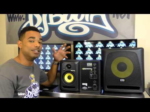 KRK Rokit 5 Monitor & 10S Subwoofer Review Video