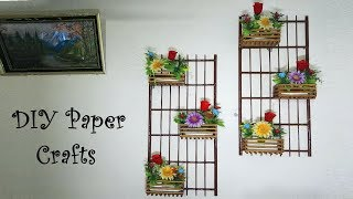 Wall Hanging Decoration with Paper || DIY Paper Craft ideas